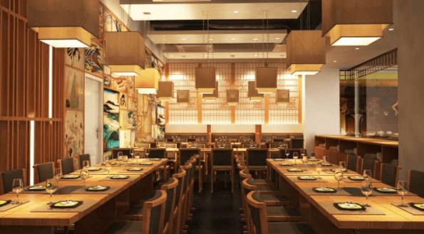 Thiết kế nhà hàng phong cách Nhật