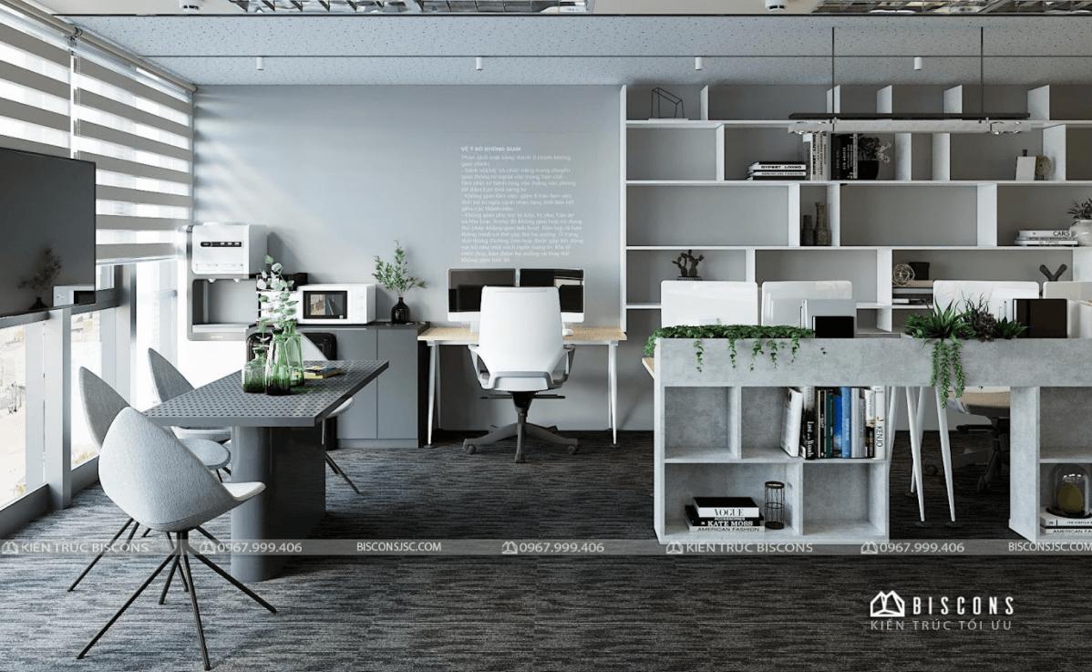 Khi thiết kế nội thất văn phòng, cần phải lưu ý những yếu tố sau đây: