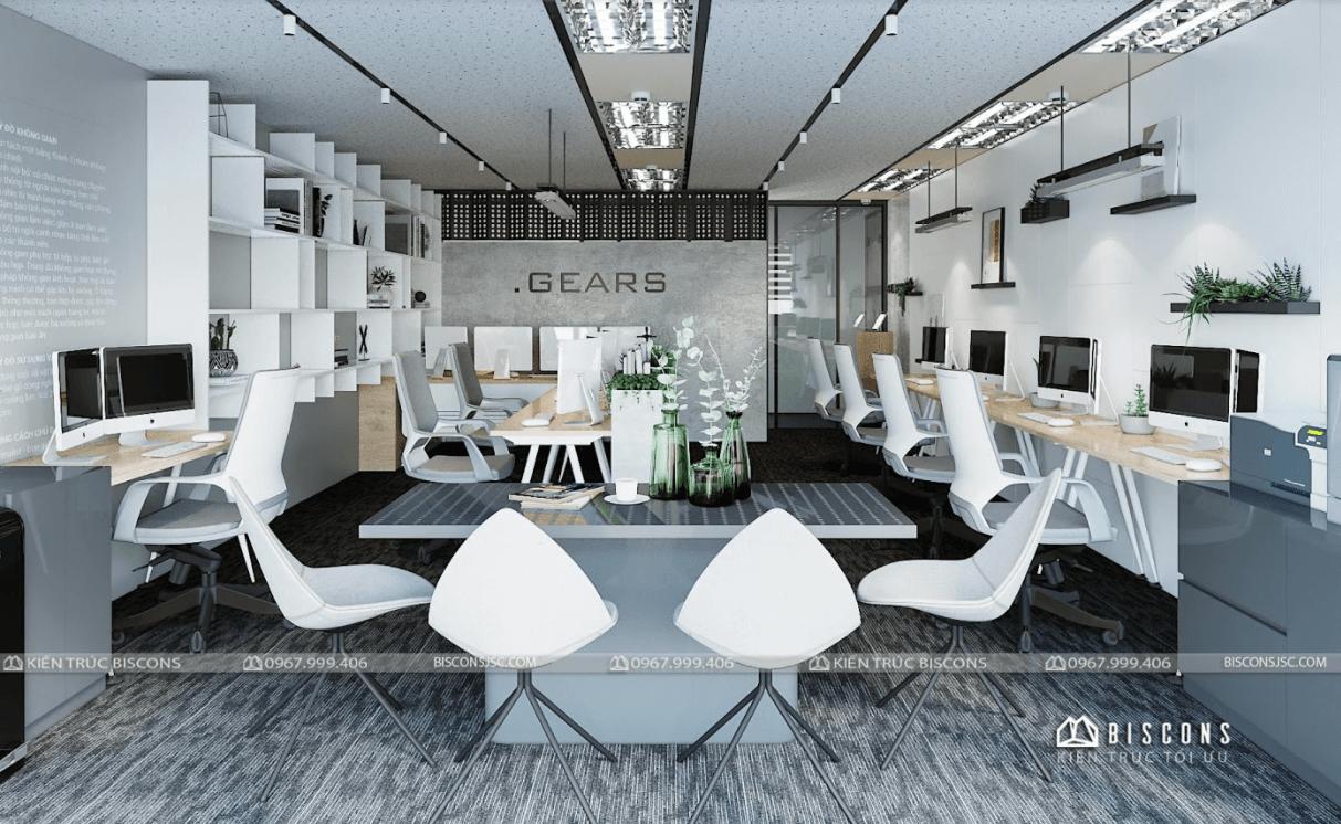 Thiết kế văn phòng nhỏ đẹp với diện tích 30m2