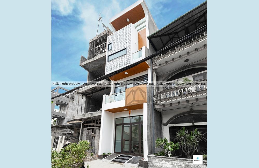 Nhà phố 70m2 anh Khánh - Hải Phòng