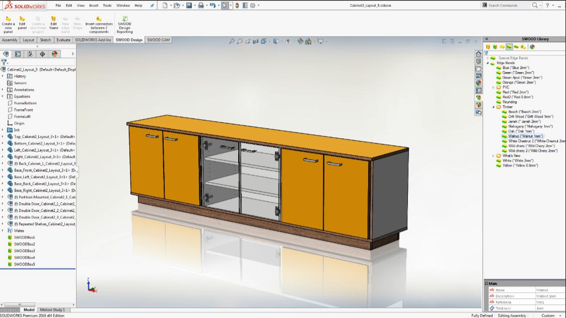 Phần mềm thiết kế nội thất SolidWorks với nhiều tính năng