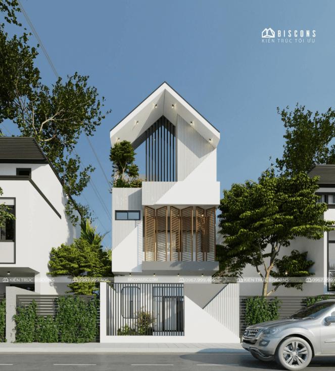 Nhà phố 3 tầng 91,2 m2 Anh Nam – Quảng Ninh