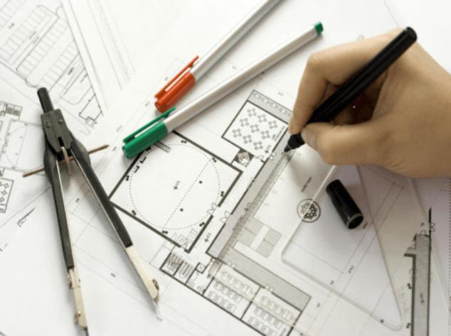 Thiết kế nội thất với nhiều yếu tố