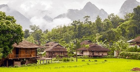 Mô hình homestay nhà sàn giản dị