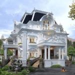 Mẫu thiết kế biệt thự kiểu Pháp dẫn đầu xu hướng 2021