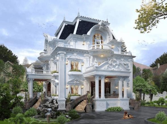 Biệt thự kiểu Pháp - Xu hướng kiến trúc nay
