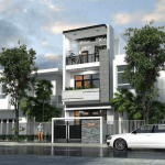 Top mẫu thiết kế nhà phố 5×20 hiện đại và ấn tượng nhất