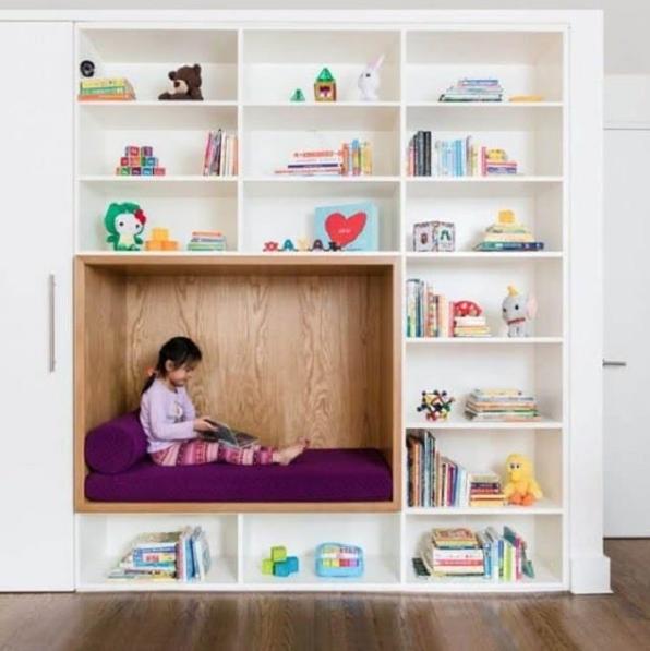 Thiết kế phòng đọc sách cho con tại nhà