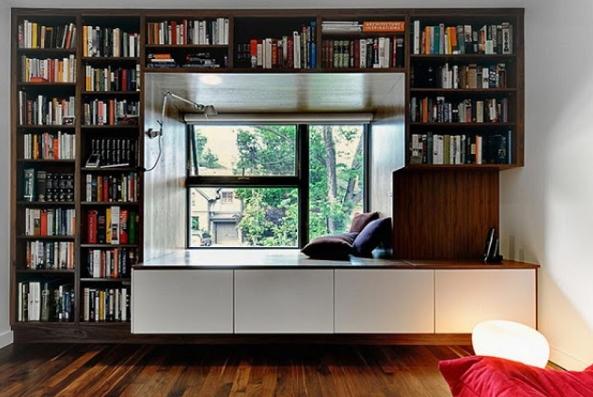Mẫu phòng sách gia đình nhỏ