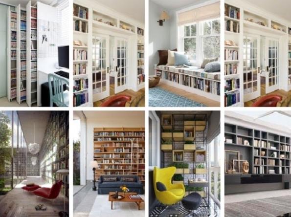 Lưu ý đến diện tích và không gian của gia đình để thiết kế phòng đọc