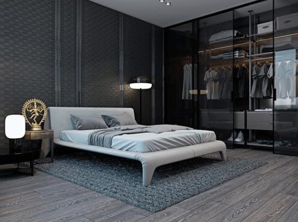 Phòng ngủ cho nam thường hướng tới sự đơn giản