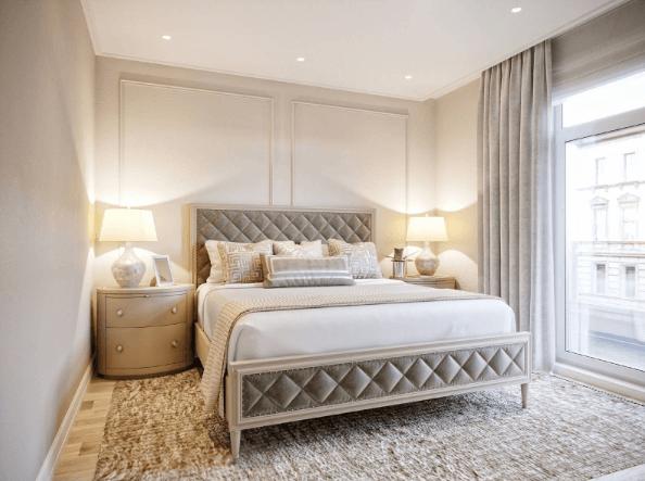 Sử dụng tone màu ấm áp cho các phòng ngủ cặp đôi