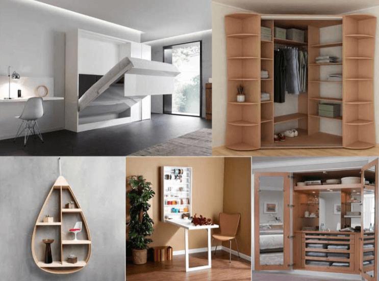 Nội thất thông minh là lựa chọn tuyệt vời giúp tiết kiệm diện tích cho toàn bộ không gian ngôi nhà