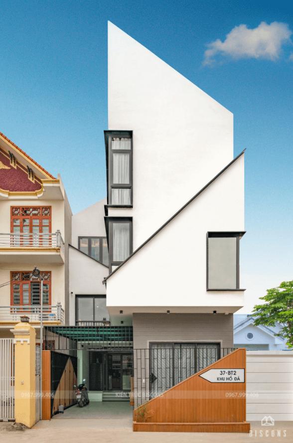 Thiết kế nhà phố 101,5 m2 Anh Hải – Hải Phòng