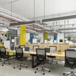 Giải pháp thiết kế văn phòng 50m2 đẹp và hiện đại