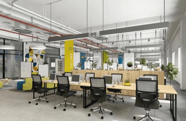 Văn phòng mở là những thiết kế không gian đầy sáng tạo