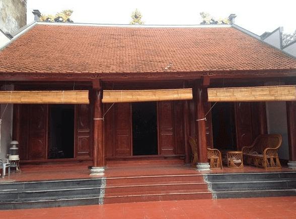 Mẫu thiết kế nhà gỗ 3 gian trong văn hóa truyền thống