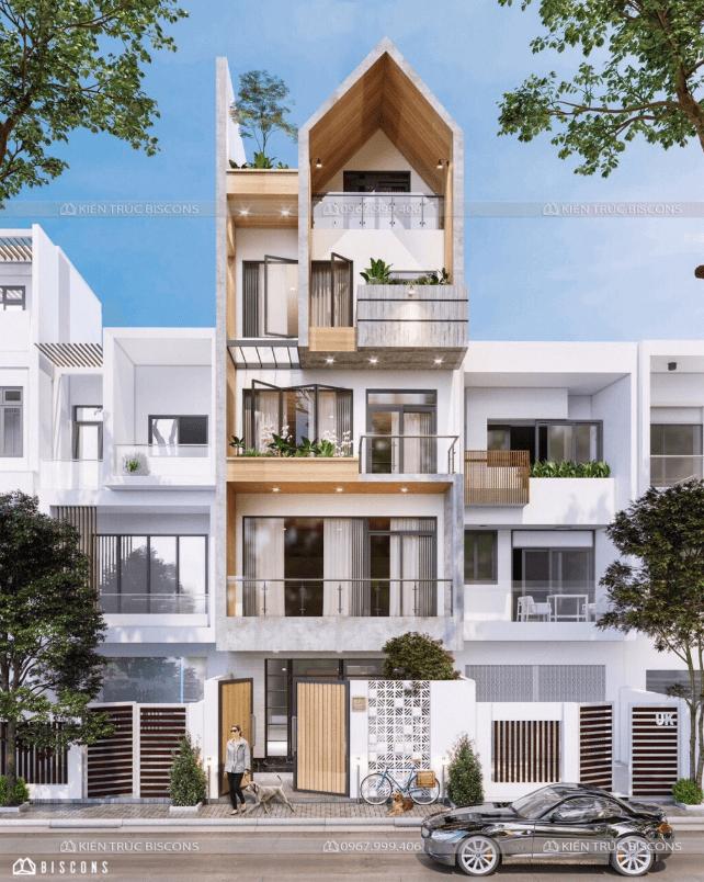 Mẫu thiết kế nhà phố đẹp nhất