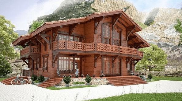 Mẫu nhà gỗ thiết kế theo phong cách Nhật Bản ấn tượng