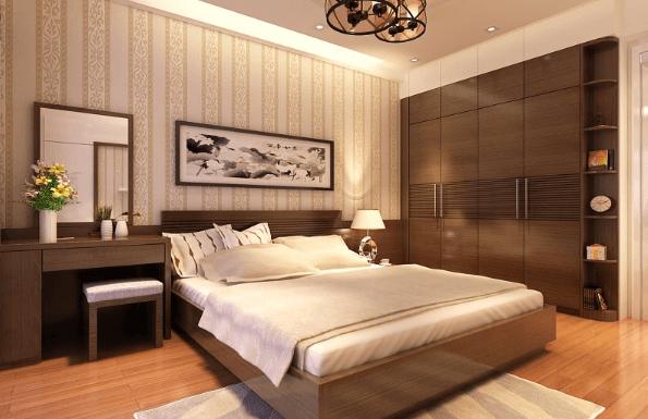 Gợi ý trang trí nội thất phòng ngủ vợ chồng gia chủ