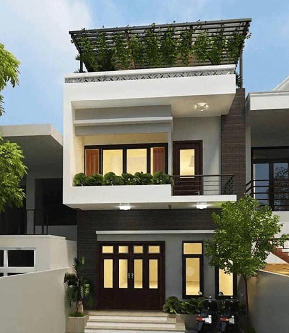 Lựa chọn mẫu thiết kế nhà 2 tầng 30m2 đơn giản