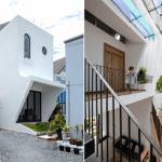 Khám phá 2 mẫu thiết kế nhà 30m2 3×10 lệch tầng gọn, đẹp, tiết kiệm không gian