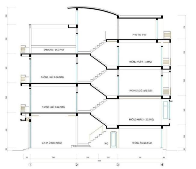 Bản thiết kế mặt cắt 30m2 3x10