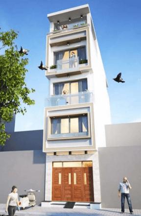Nhà 4 tầng 30m2 có tum