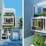 Top 3 mẫu thiết kế nhà 50m2 3 tầng hiện đại, trẻ trung, hợp thời đại