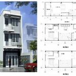 Tư vấn thiết kế nhà 60m2 3 tầng đầy đủ công năng, từ A đến Z