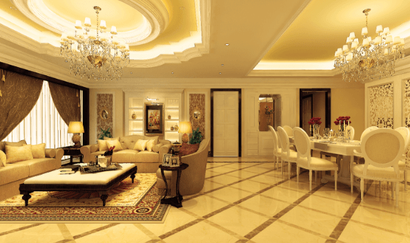 Căn hộ chung cư thiết kế theo phong cách cổ điển