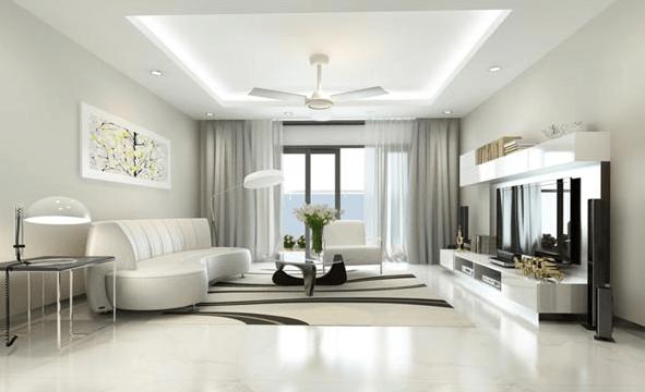 Căn hộ chung cư thiết kế theo phong cách hiện đại
