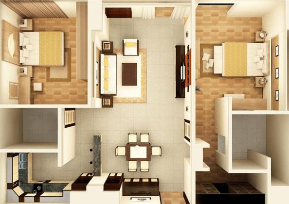Nhà chung cư phải đầy đủ các phòng chức năng