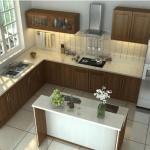 Thiết kế nhà bếp ở nông thôn đơn giản, tiện nghi, giá rẻ