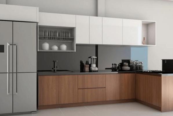 Mẫu nhà bếp theo phong cách cổ điển nhưng không kém phần sang trọng