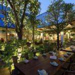 Mẹo thiết kế nhà hàng sân vườn đẹp hiện đại và sang trọng