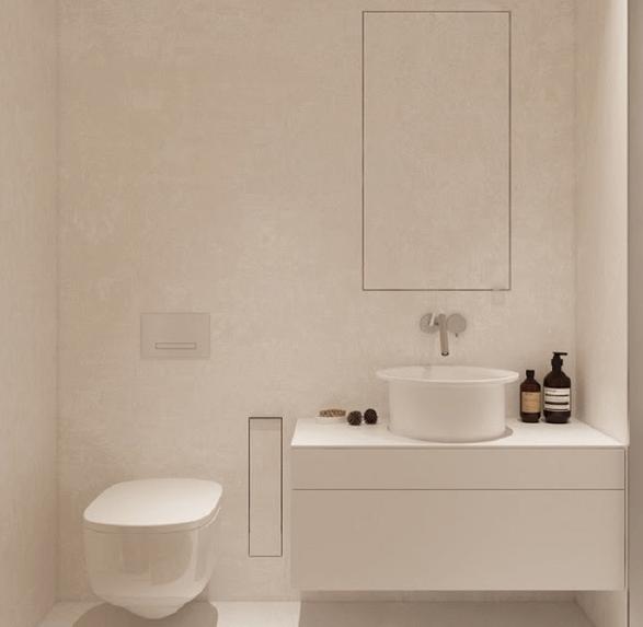 Thiết kế nhà vệ sinh nhỏ kiểu Nhật